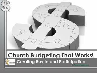 Church Budgeting  That Works!