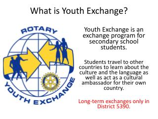 What is Youth Exchange?