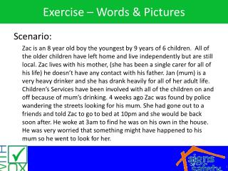 Exercise – Words & Pictures