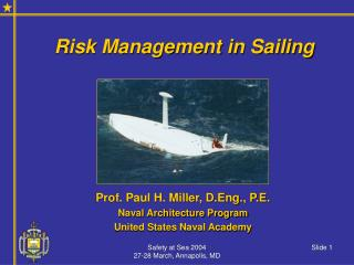 Risk Management in Sailing