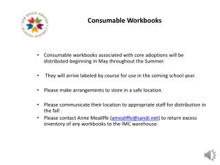 Consumable Workbooks