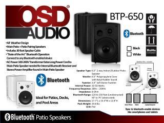 Patio Speakers
