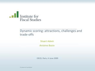Dynamic scoring: attractions, challenges and trade-offs