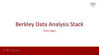 Berkley Data Analysis  Stack