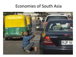 Economies of South Asia
