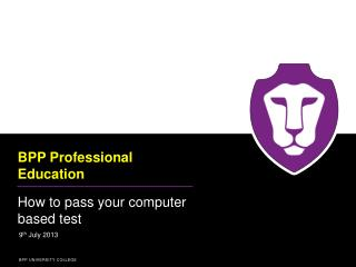 BPP Professional Education