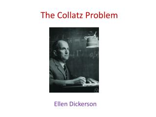 The  Collatz  Problem