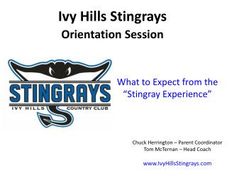 """What to Expect from the """"Stingray Experience"""""""
