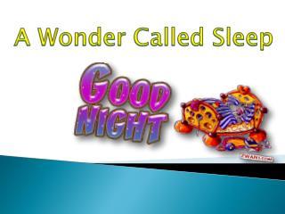 A Wonder Called Sleep