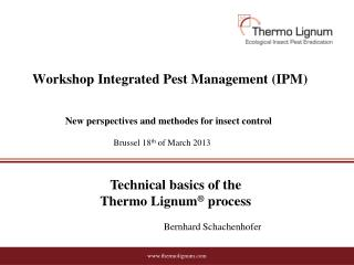 Workshop  Integrated Pest Management (IPM )