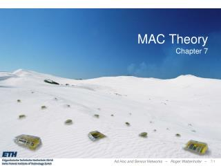 MAC Theory Chapter 7