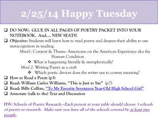 2/25/14  Happy Tuesday