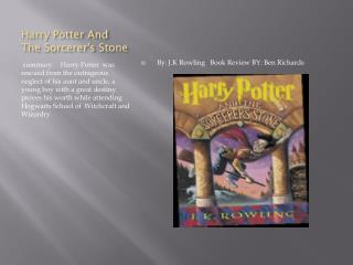 Harry Potter And The  Sorcerer's  S tone