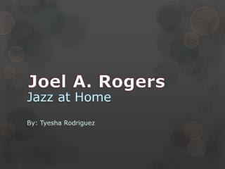 Jazz  at Home