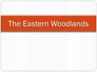 The Eastern Woodlands