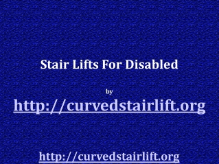Unique Alternatives To Stair Lifts For Your Elderly