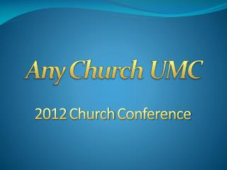Any Church UMC