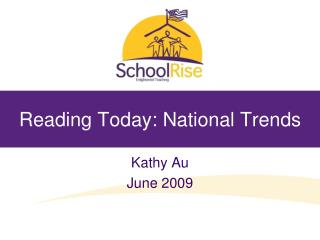 Reading Today: National Trends