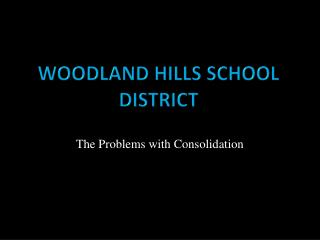 Woodland Hills School District