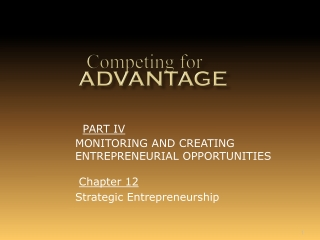 Creating the entrepreneurial culture