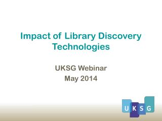 Impact of Library Discovery Technologies
