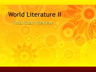 World Literature II