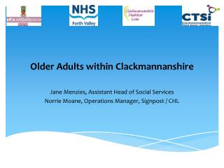 Older Adults within Clackmannanshire