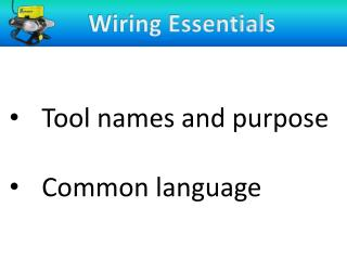 Wiring Essentials