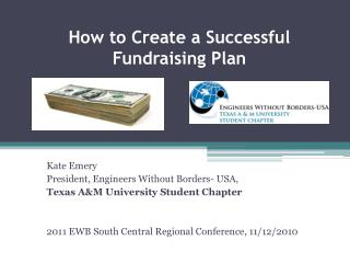 How to Create a Successful Fundraising Plan