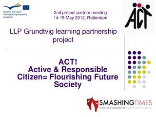 LLP Grundtvig learning partnership project