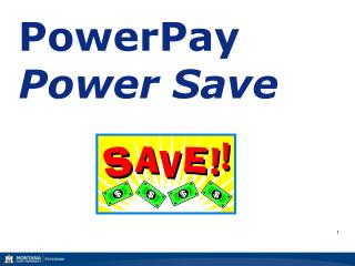 PowerPay Power Save