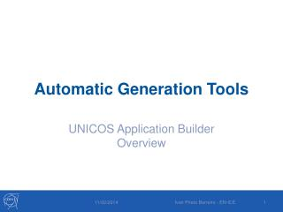 Automatic Generation Tools