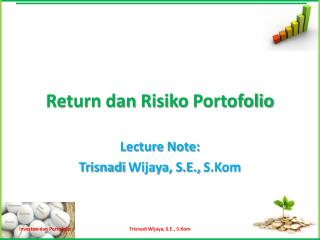 Return  dan Risiko Portofolio