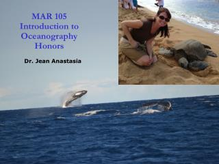 MAR 105 Introduction to Oceanography Honors