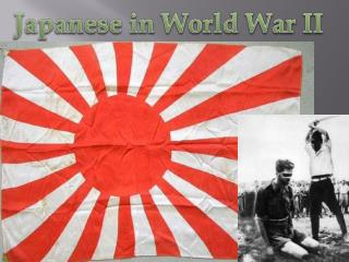 Japanese in World War II