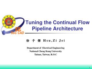 Tuning the Continual Flow Pipeline Architecture