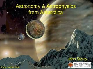 Astronomy  Astrophysics from Antarctica