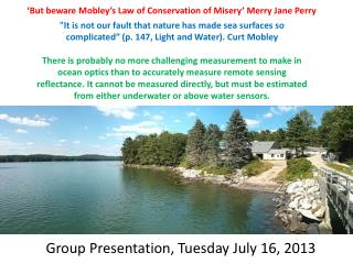 'But beware Mobley's Law of Conservation of Misery' Merry Jane Perry