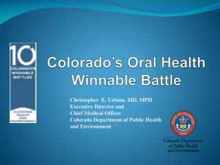 Colorado's Oral Health Winnable Battle