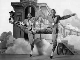 Harlem Renaissance Georgia Douglas Johnson