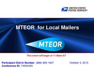 MTEOR  for Local Mailers