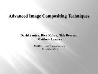 Advanced Image Compositing Techniques