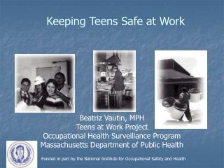 Keeping Teens Safe at Work