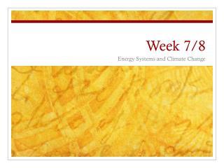 Week 7/8