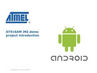 AT91SAM JNI demo project introduction