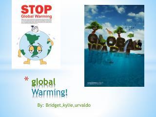 global  Warming !