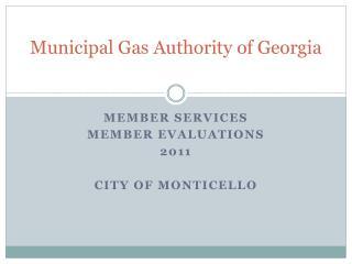 Municipal Gas Authority of Georgia