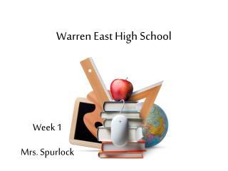 Warren East High School