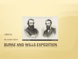Burke and wills expedition