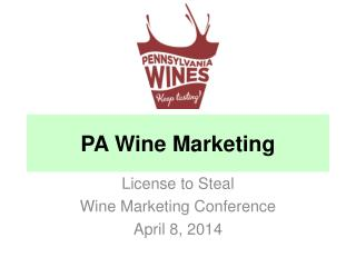 PA  Wine  Marketing